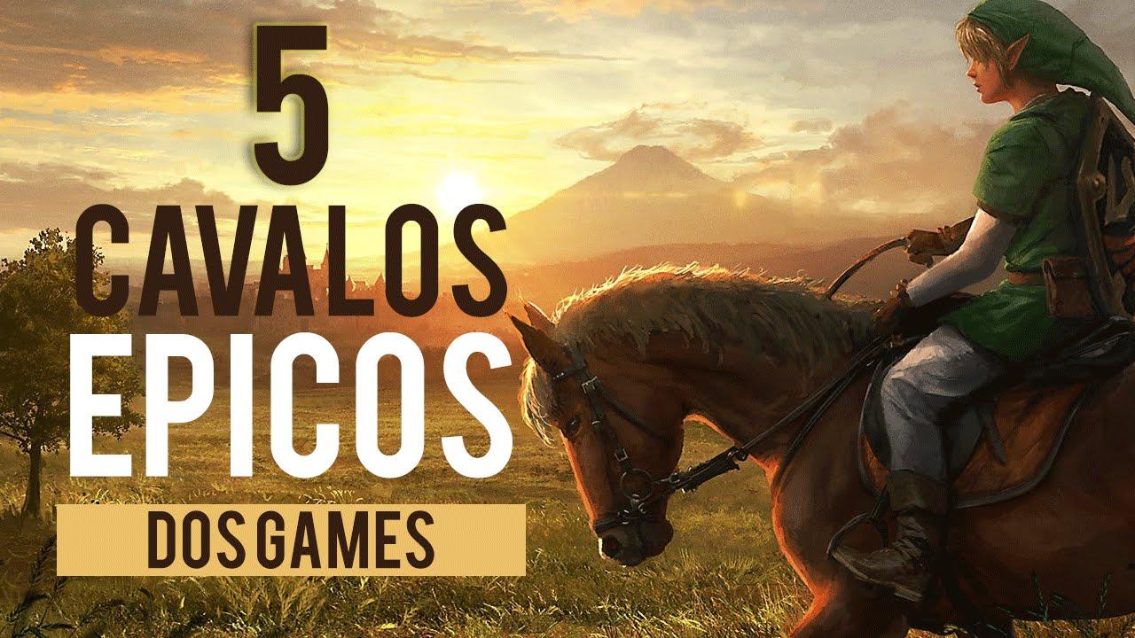 5 Cavalos Épicos Do Mundo Dos Jogos   Video Games