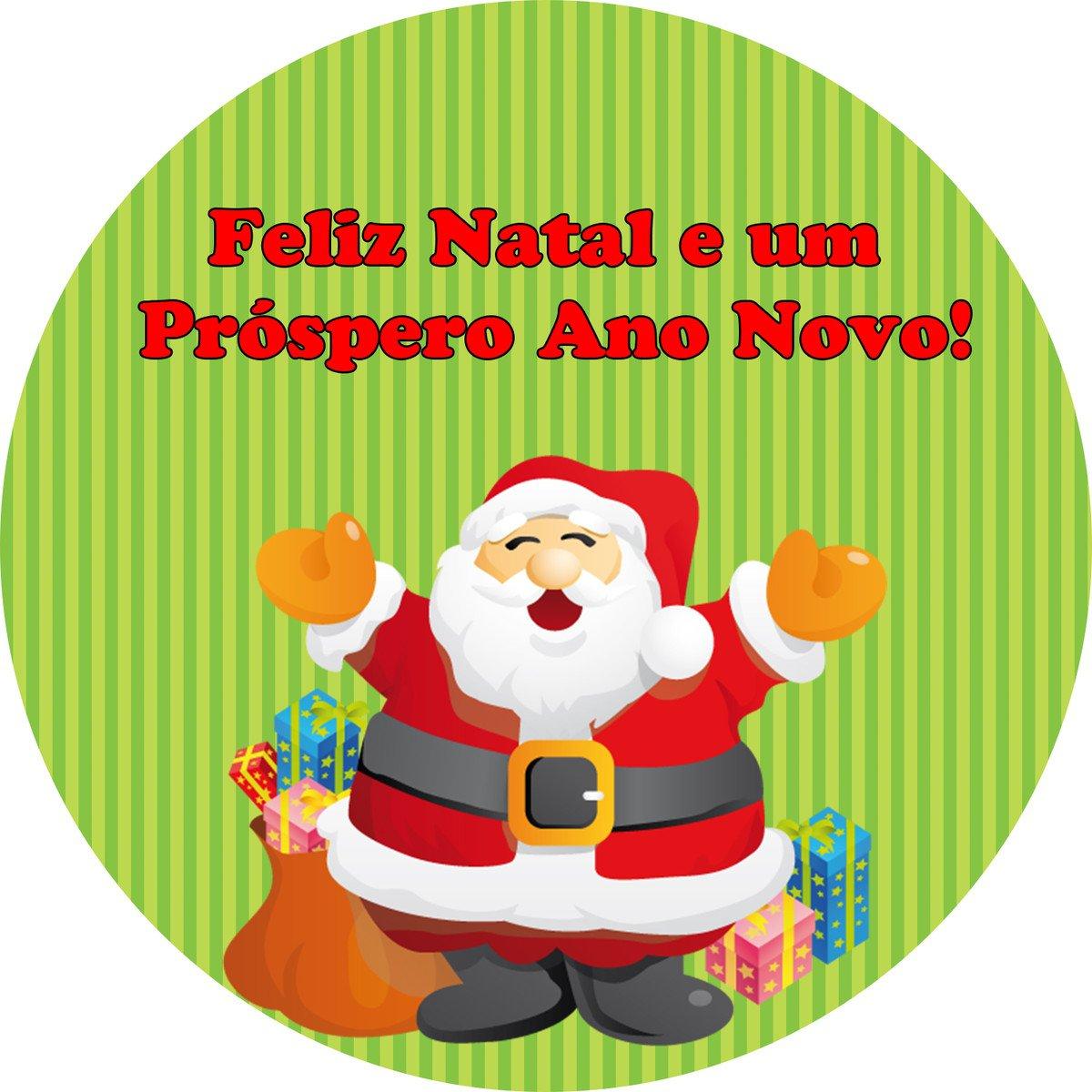 Adesivo,rótulo De Natal