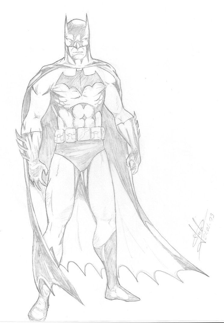 Batman By Julio