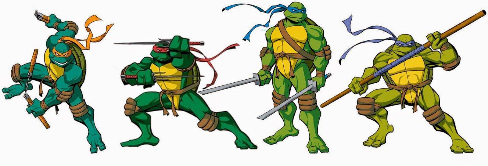 Boteco De Oa  Conheça Todas (ou Não) Versões Das Tartarugas Ninja