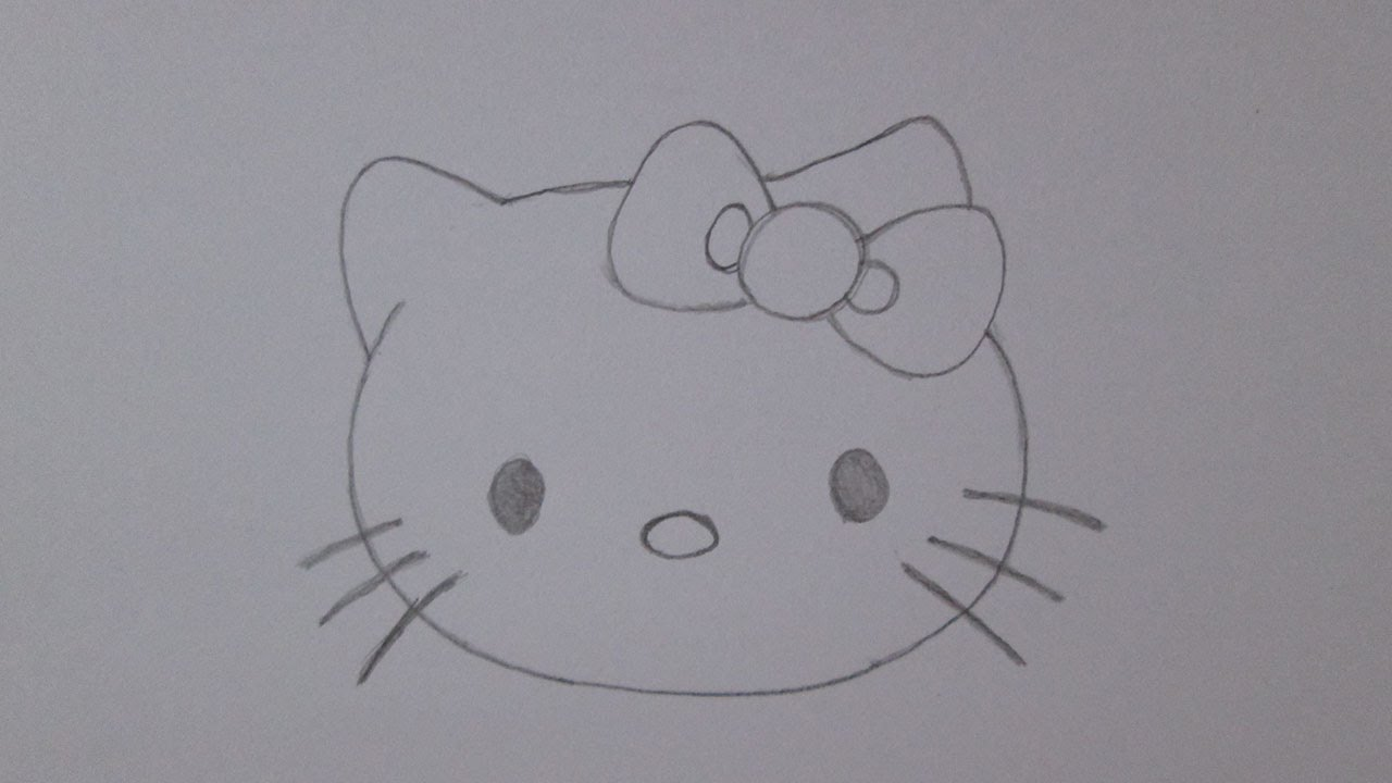 Como Desenhar A Hello Kitty