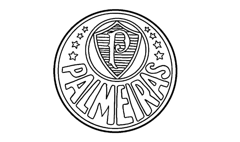 Como Desenhar O Escudo Do Palmeiras (se)