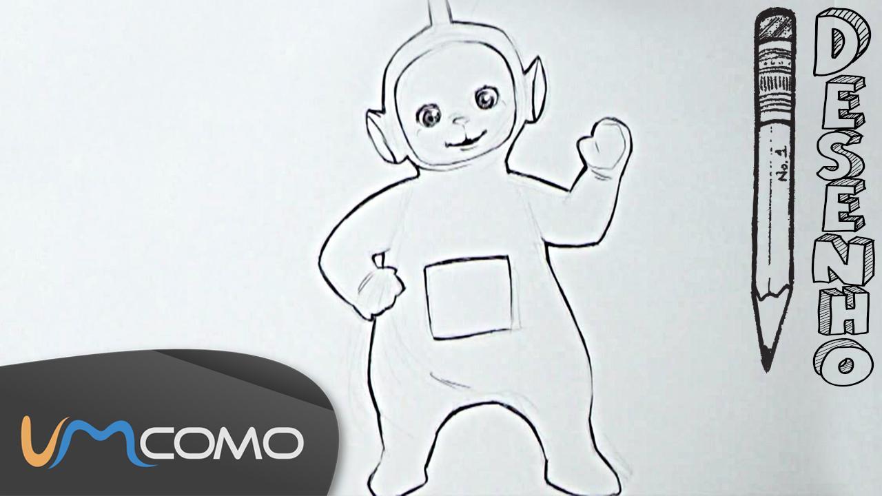 Como Desenhar O Teletubbie Dipsy