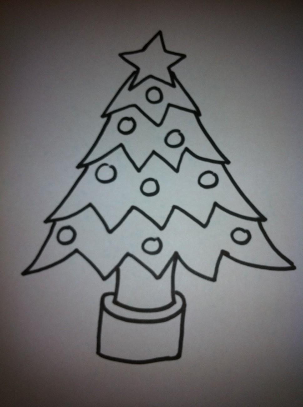 Como Desenhar Uma árvore De Natal Muito Simples
