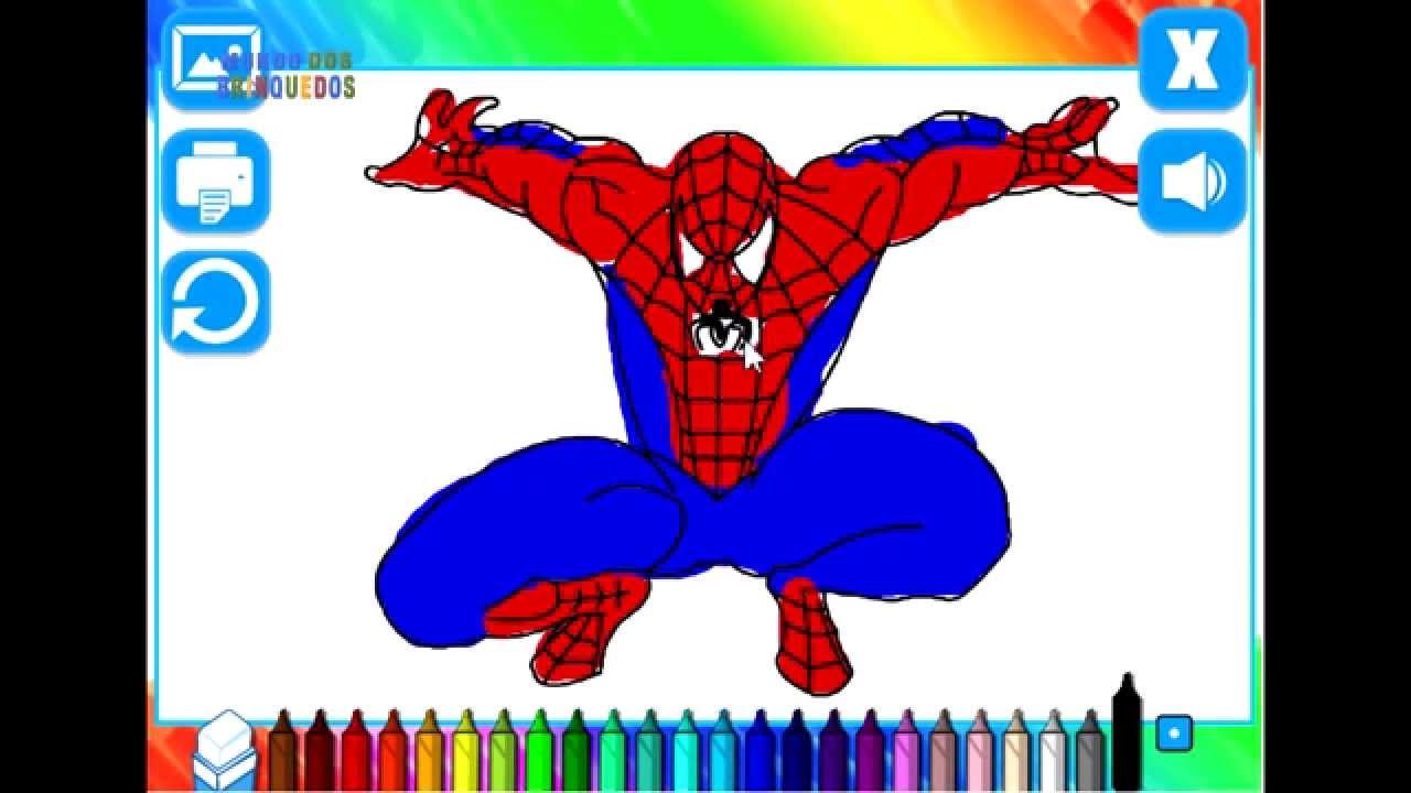 Como Pintar O Homem Aranha