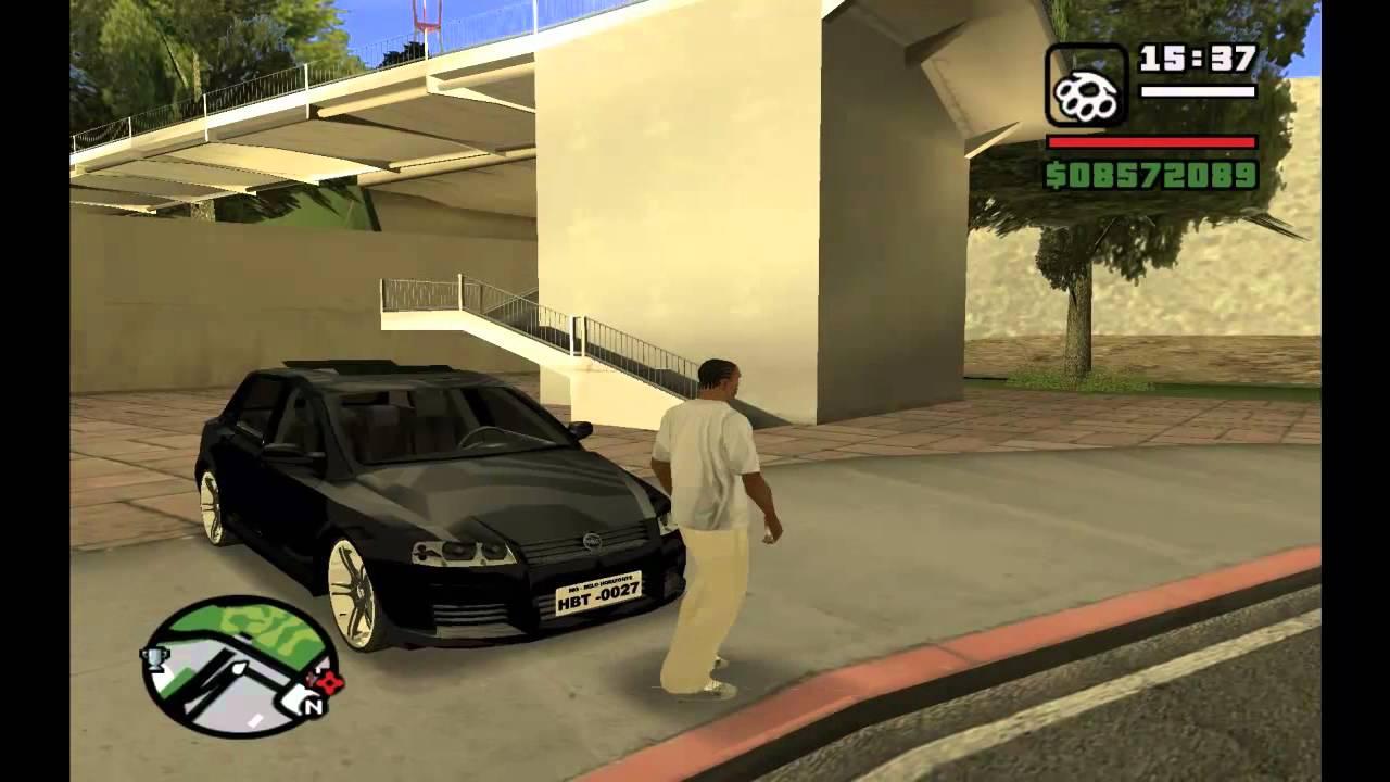 Como Rebaixar Carros No Gta San Andreas (pc) Pelo Jogo!