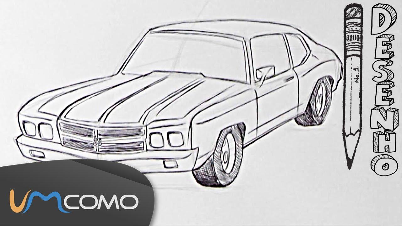 Desenhar Um Carro Passo A Passo