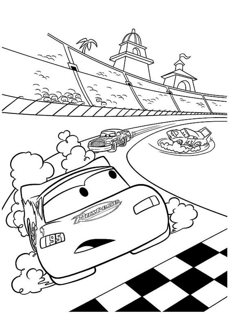 Desenho De Carros Para Colorir ~ Imagens Para Colorir