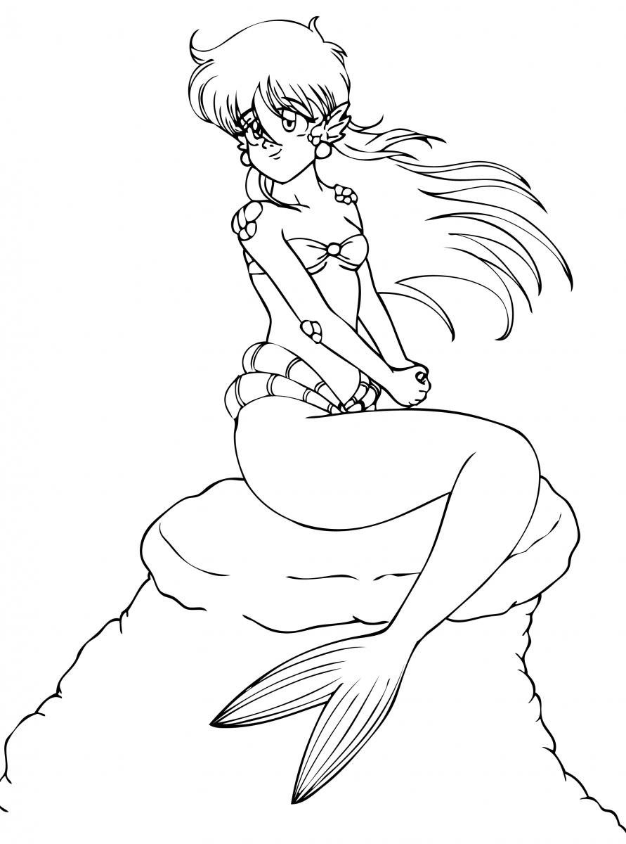 Desenho De Uma Sereia Hd