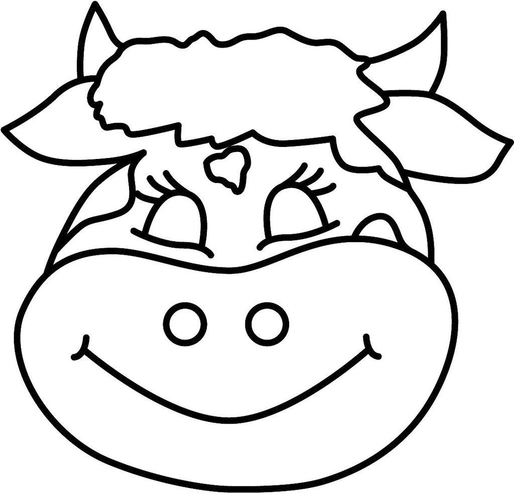 Desenho De Vacas Para Colorir ~ Imagens Para Colorir