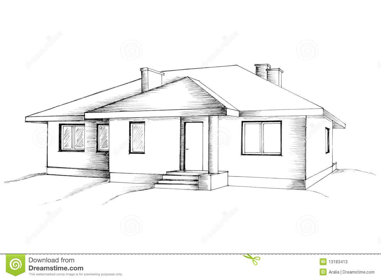 Casas em desenho for Huizen tekenen