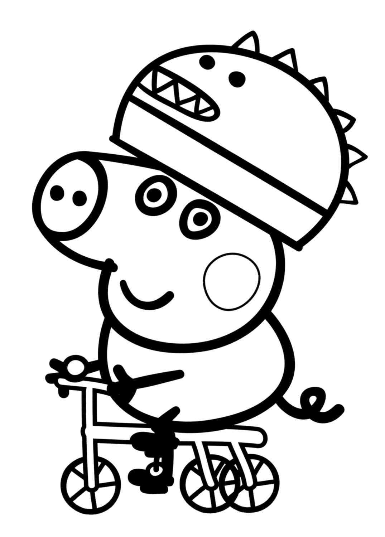 Desenhos De Peppa Pig Para Colorir, Pintar, Imprimir Ou Preparar