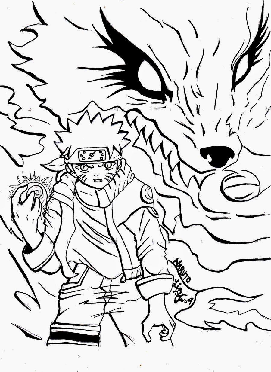 Desenhos Do Naruto Para Colorir
