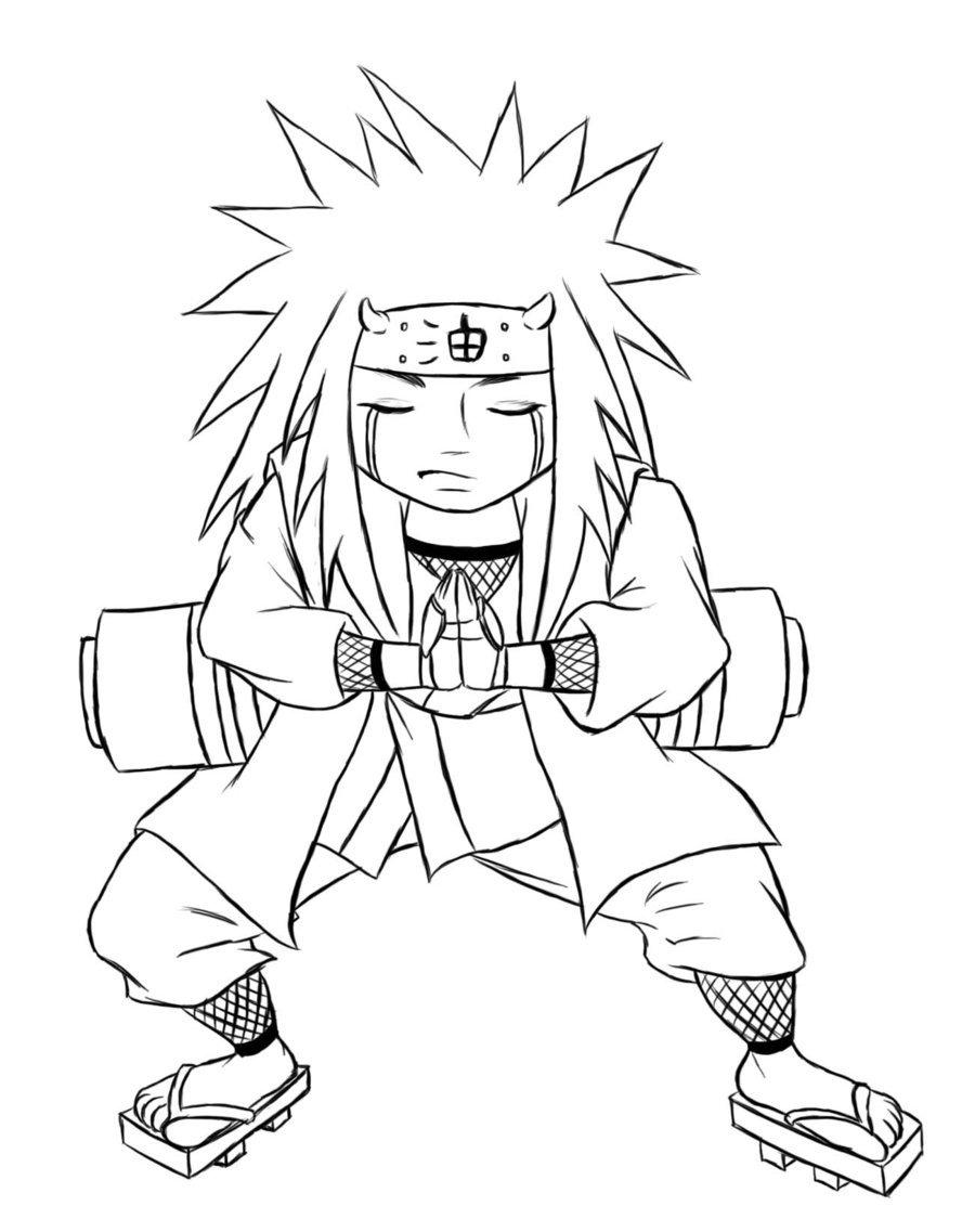 Desenhos Do Naruto Para Imprimir E Colorir