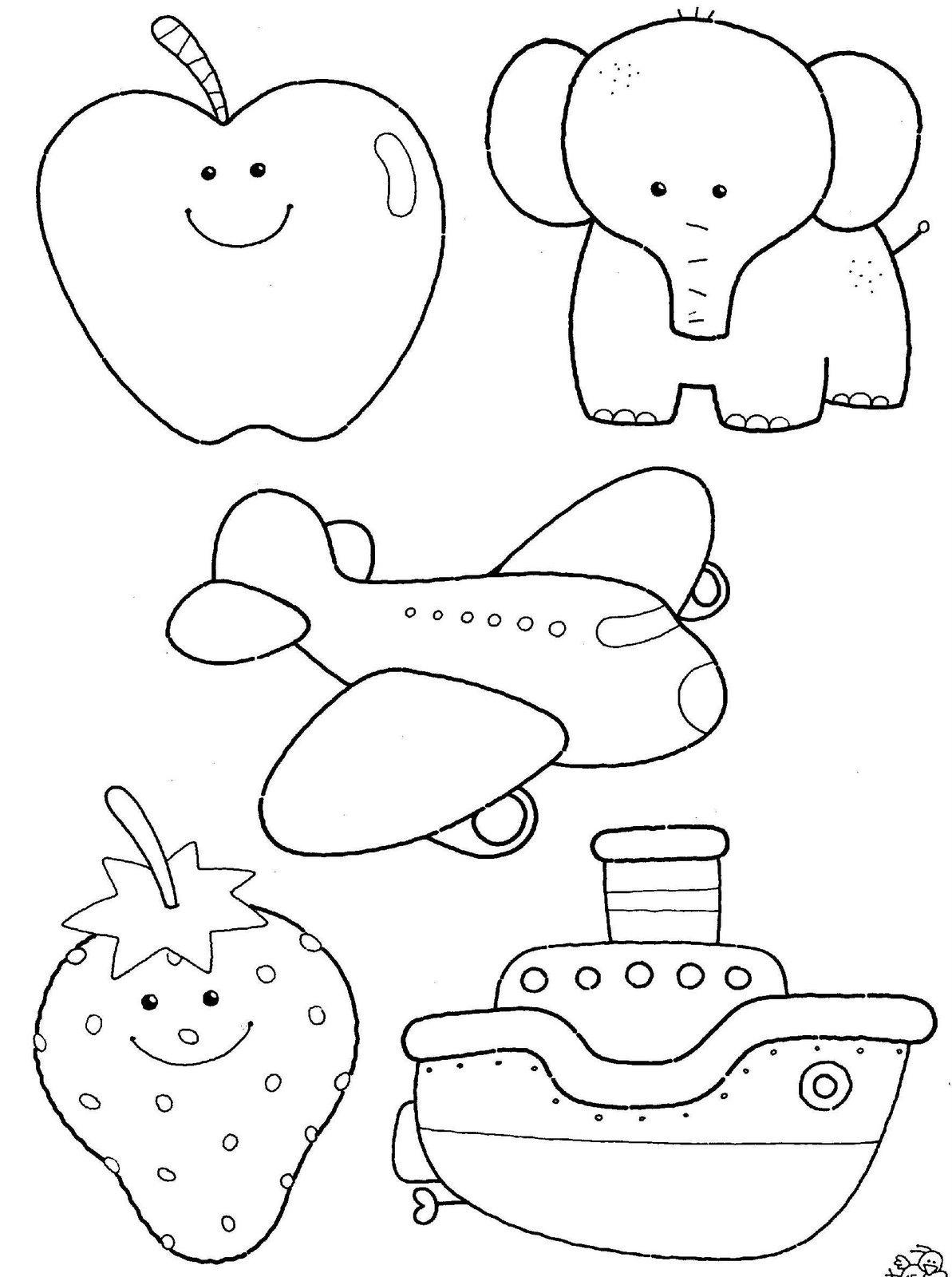 Desenhos Para Colorir De Bichinhos E Animais Fofos Free Coloring