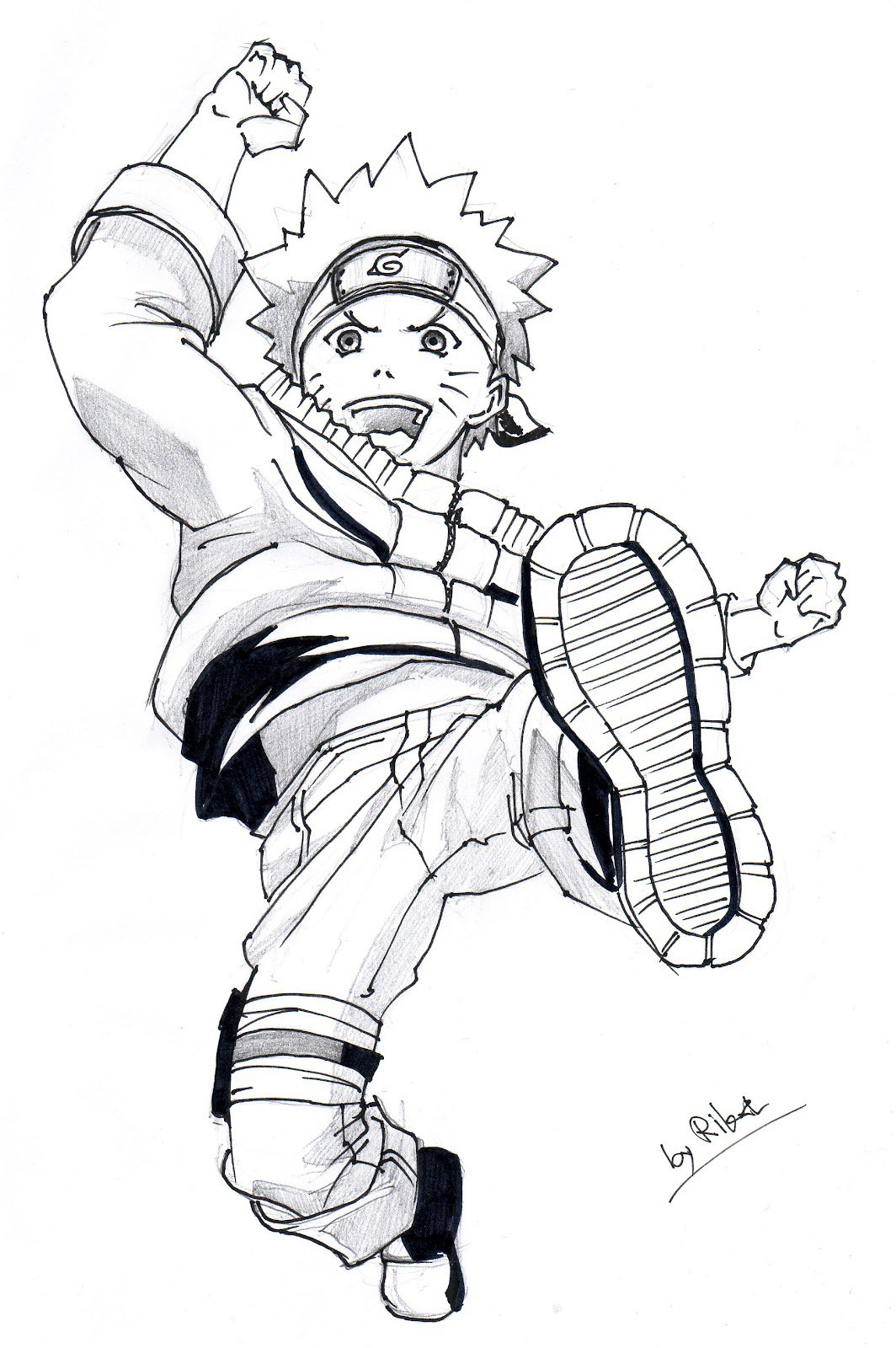 Desenhos Para Colorir Do Naruto