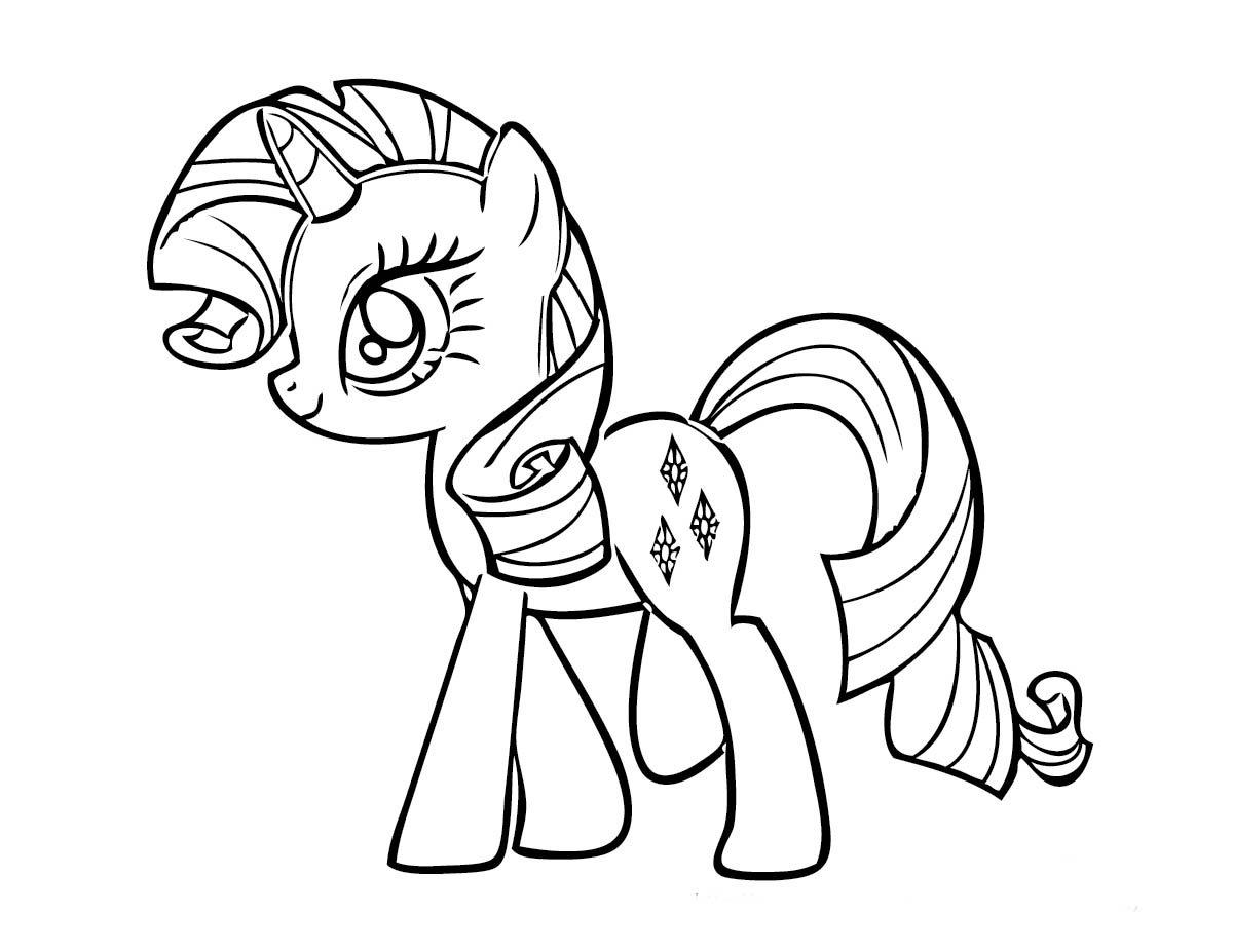 Desenhos Para Pintar: Jogos De Pintar Do My Little Pony