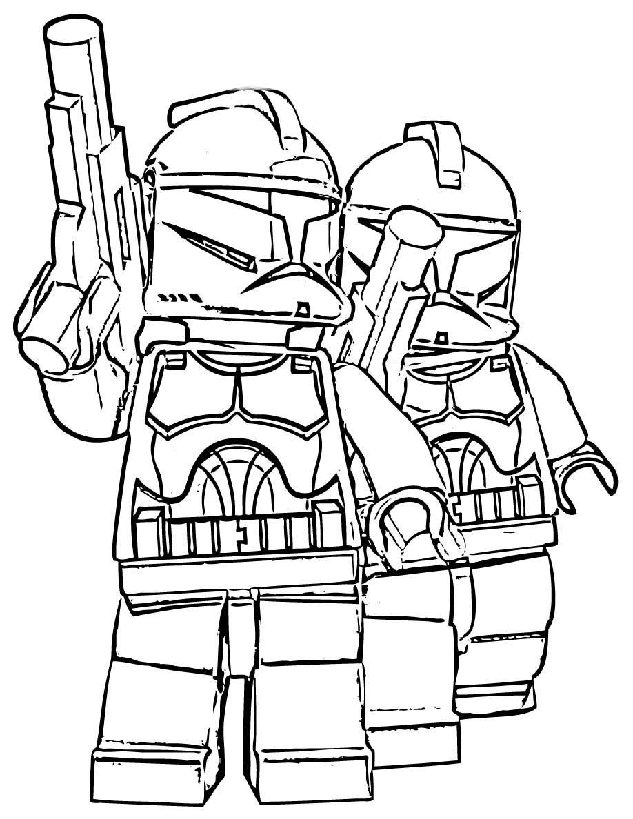Desenhos Para Colorir Star Wars Lego No Jogos Online Wx Sketch
