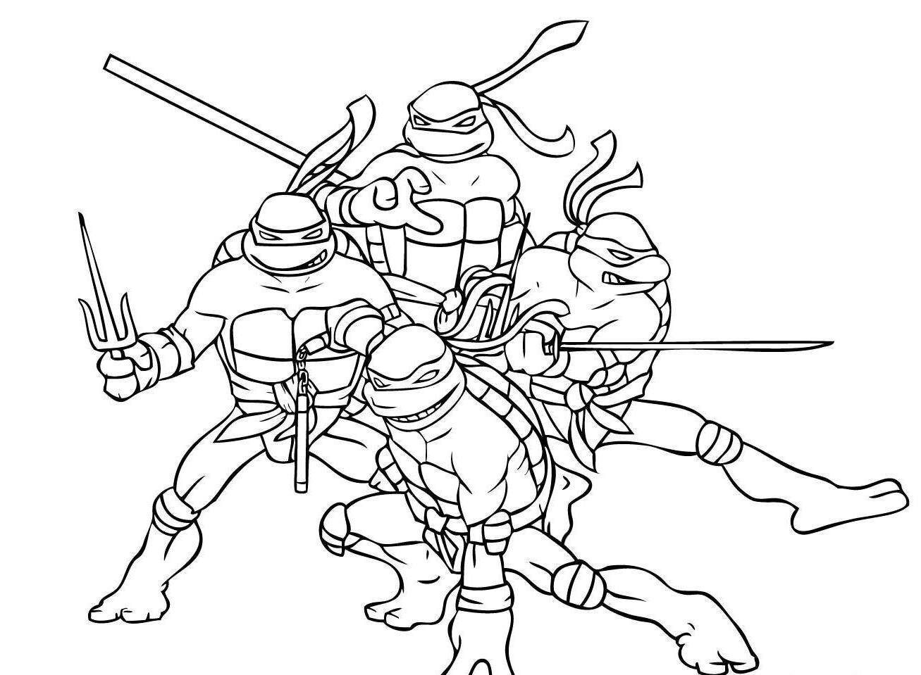 Desenhos Para Pintar Das Tartarugas Ninja Desenhos Para