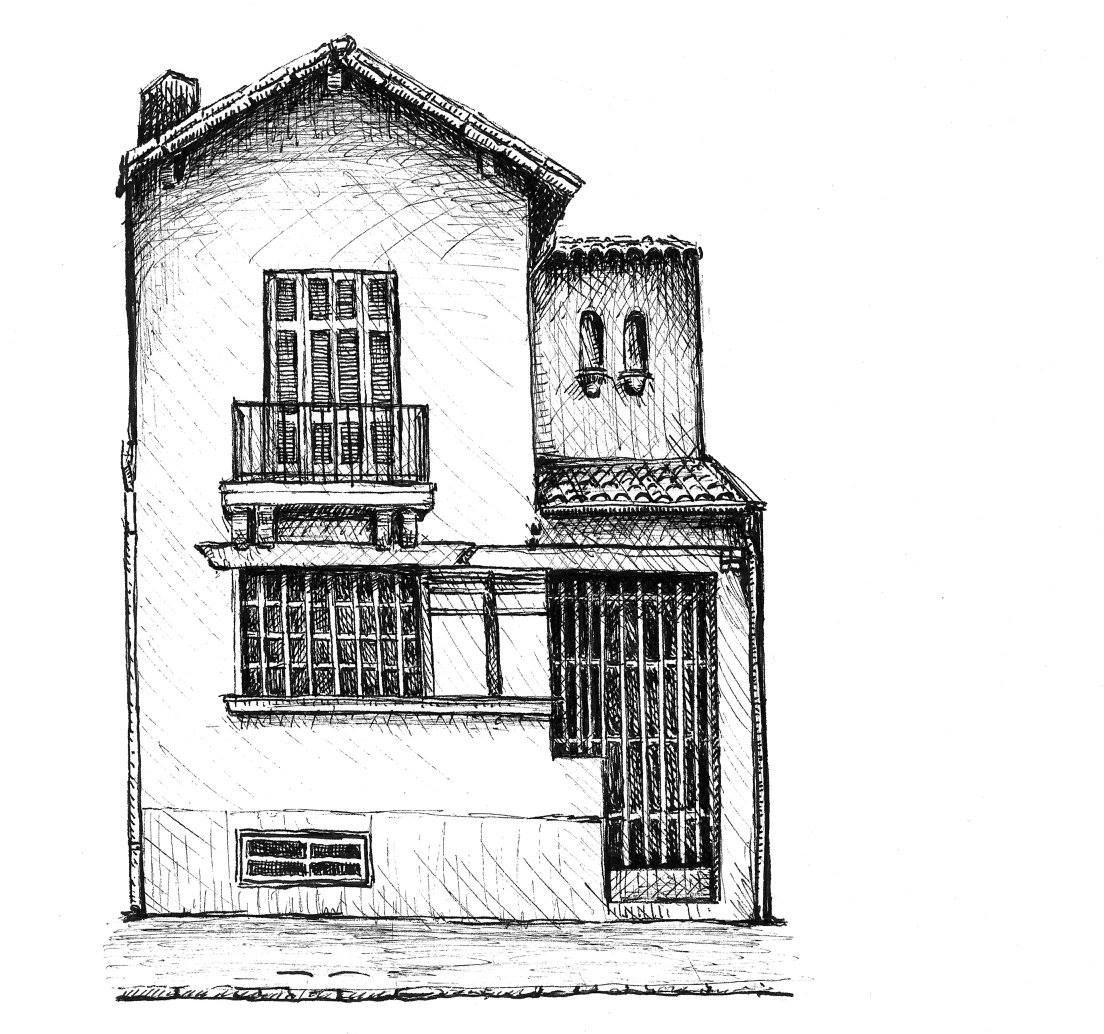 Desenhos Registram Casas De Bairro Paulistanas  Antes Que Acabem