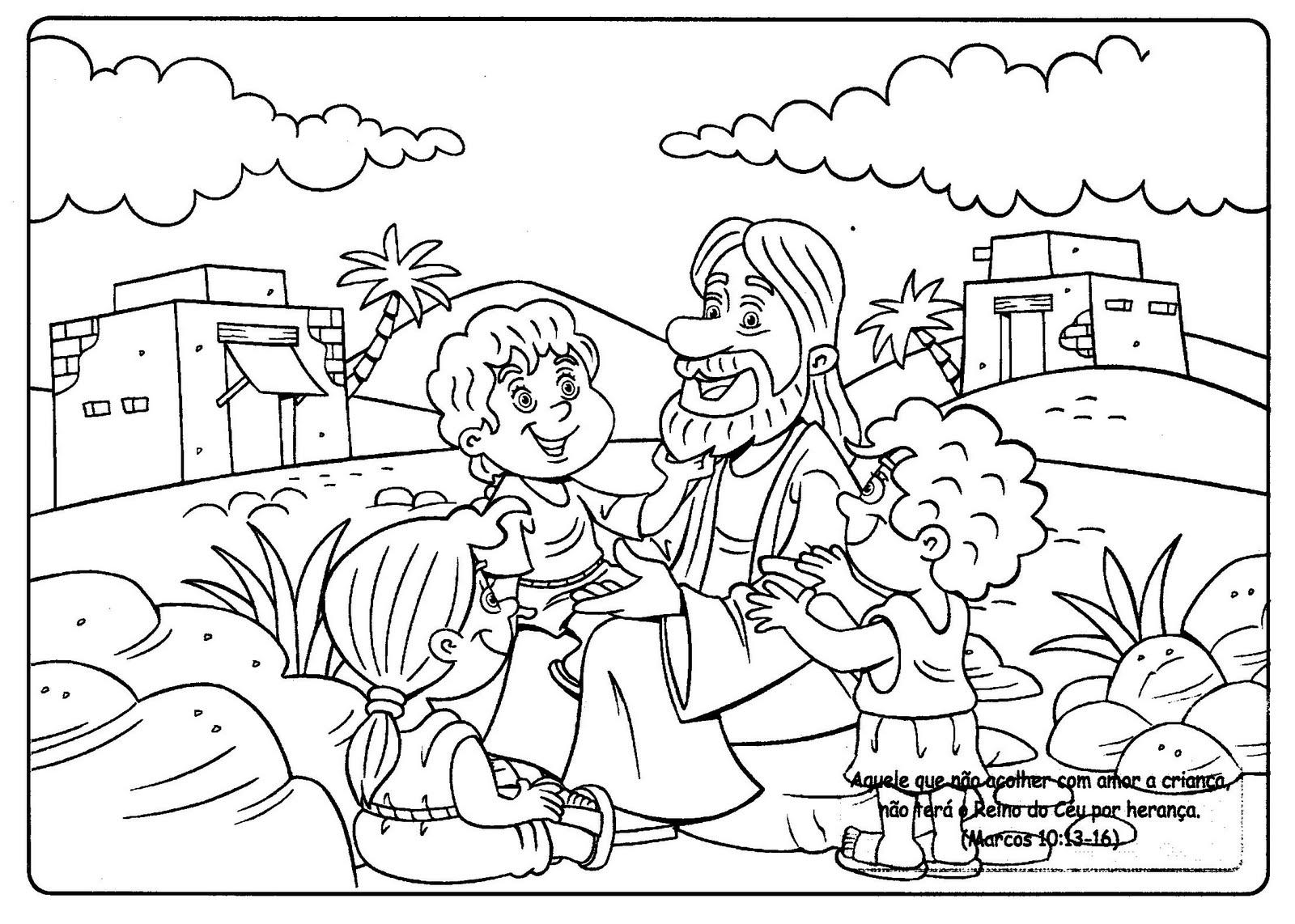 Imagens Bíblicas Para Colorir