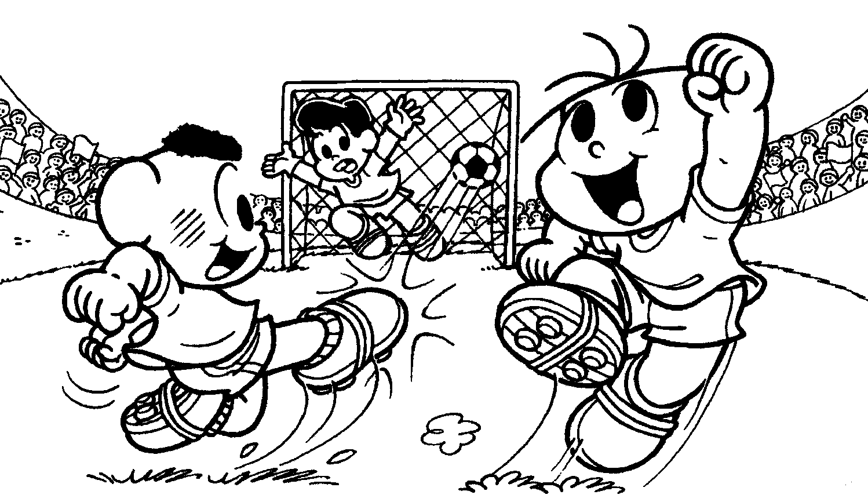 Imagens De Futebol Da Turma Da Mônica