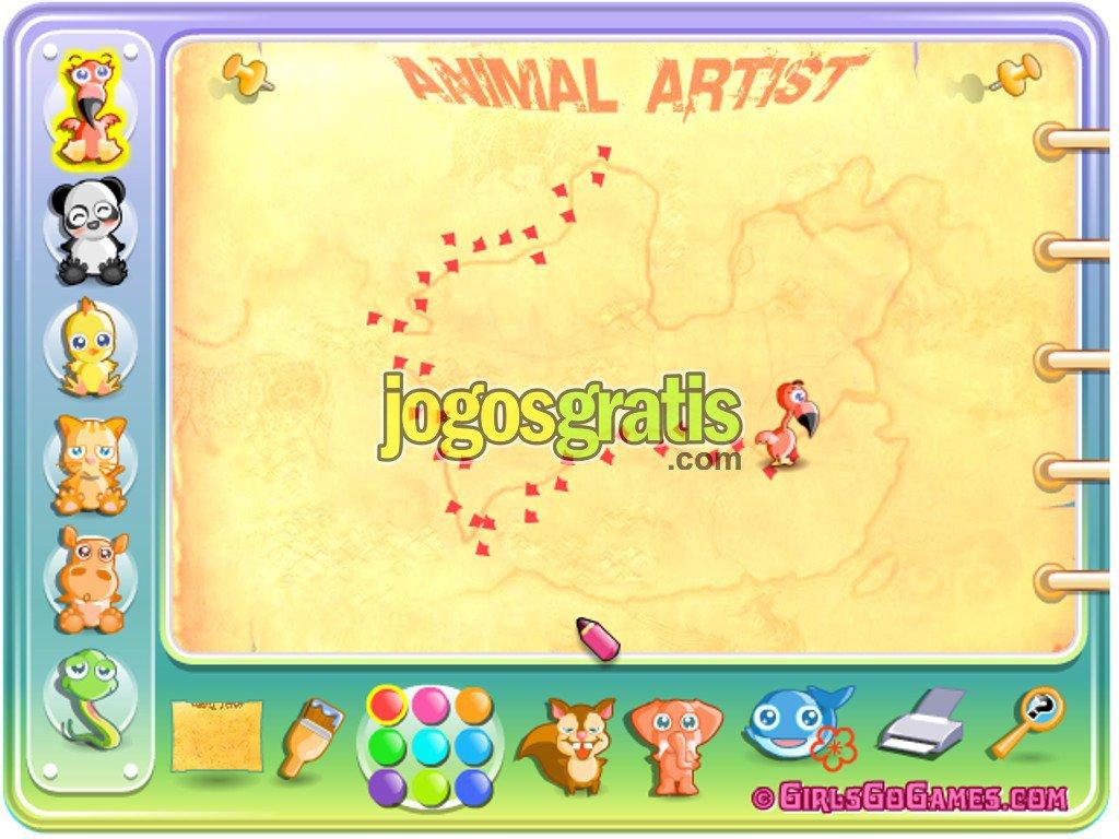 Jogo Animal Artist