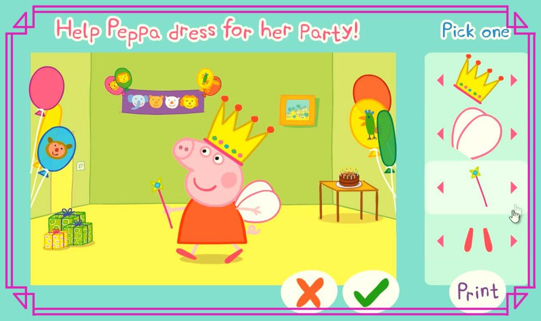 Jogo Peppa Pig Vestindo A Porquinha, Game, Play, Kids, Jogo