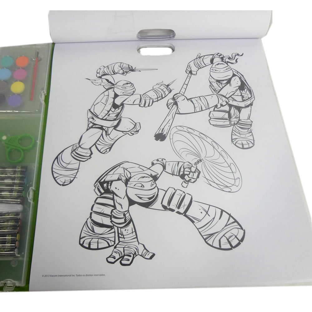 Desenhos Para Colorir Das Tartarugas Ninja