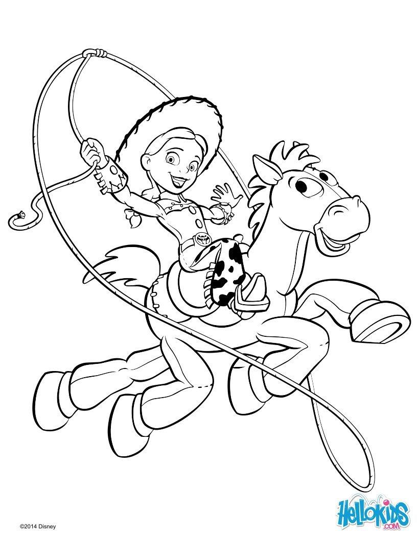 Livro De Páginas Para Colorir Do Toy Story   57 Desenhos Para