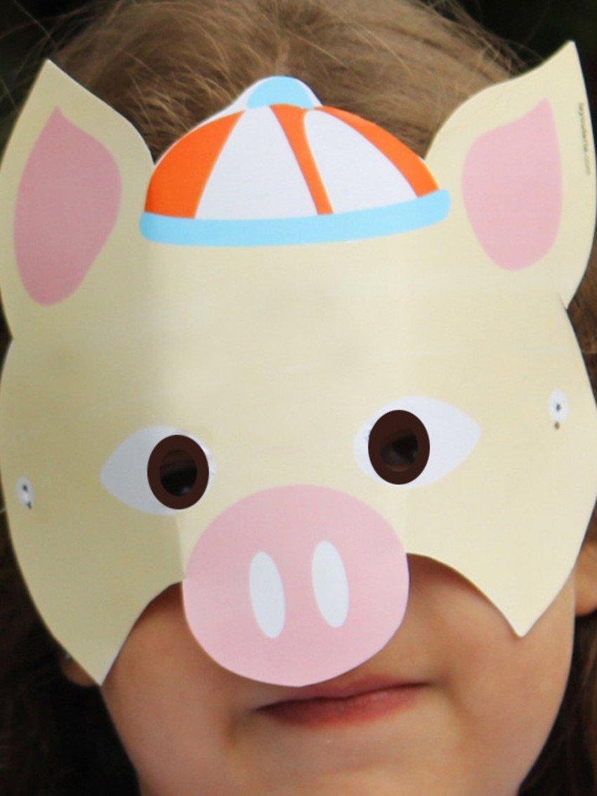 Máscara De Porquinho Pdf