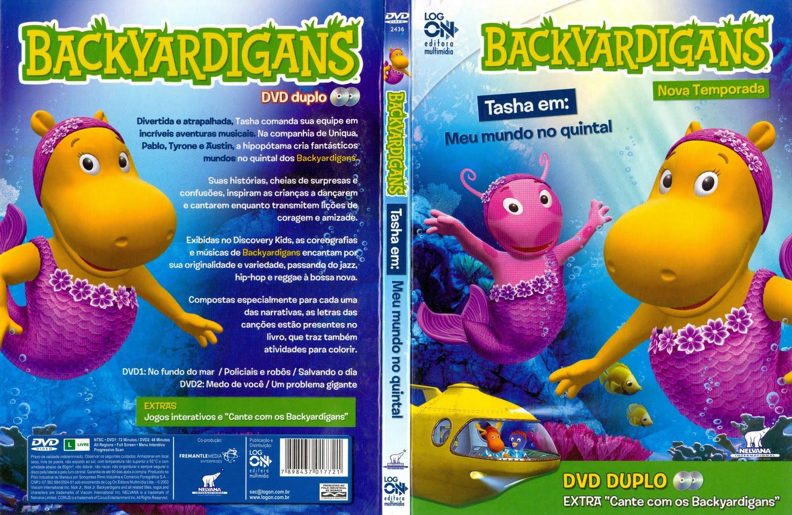 Megapost – Backyardigans – 2ª Temporada Completa « Visitem Www