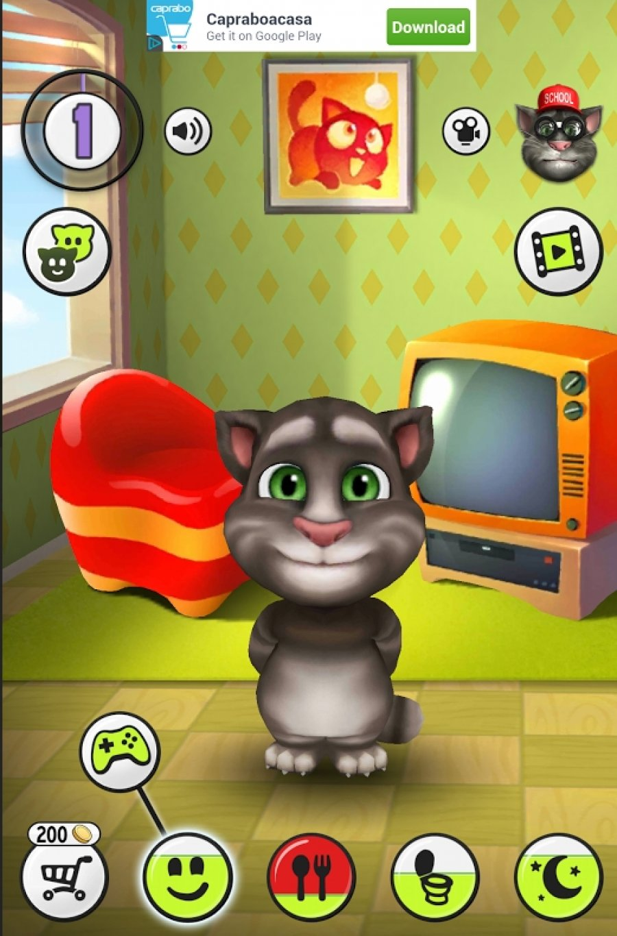 My Talking Angela 4.7.2.796 - Download for PC Free
