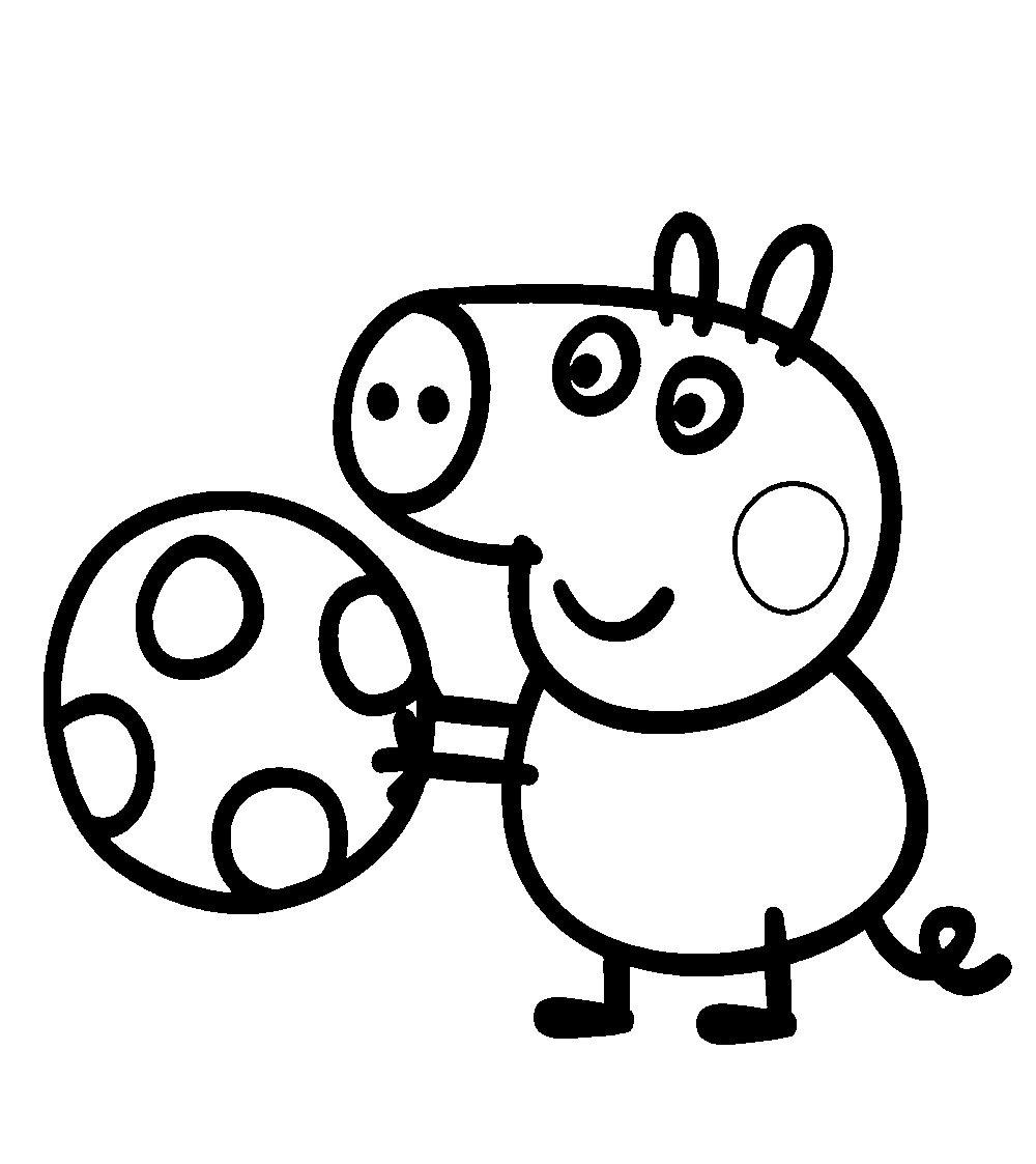 Peppa Pig Desenhos Para Imprimir Colorir E Pintar » Desenhos Para