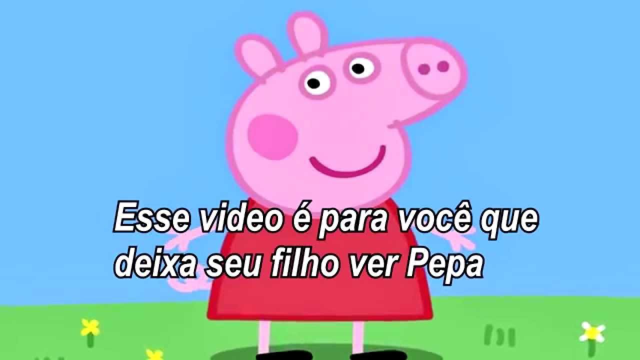 Peppa Pig Mensagens Subliminares, Cuidado Ao Deixar Seu Filho(a