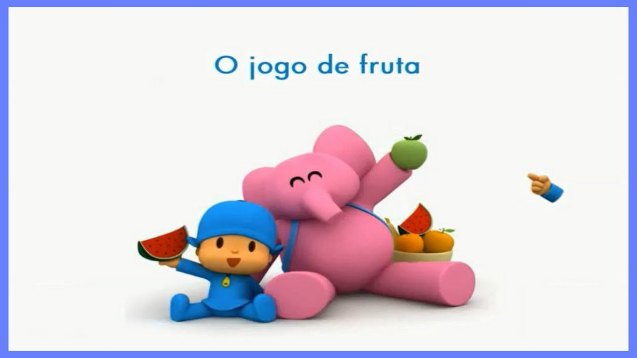 Pocoyo O Jogo De Fruta Great Games For Kids With Sweet Pocoyo