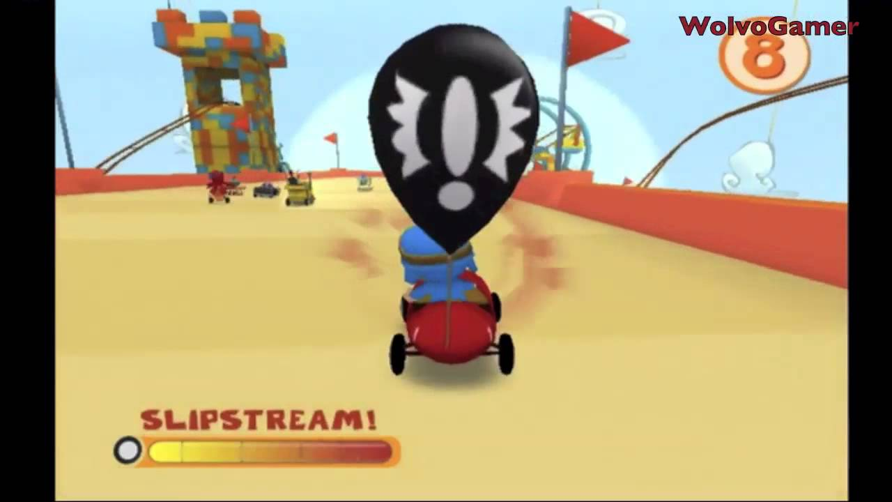 Pocoyo Racing 2011 Wii Gameplay