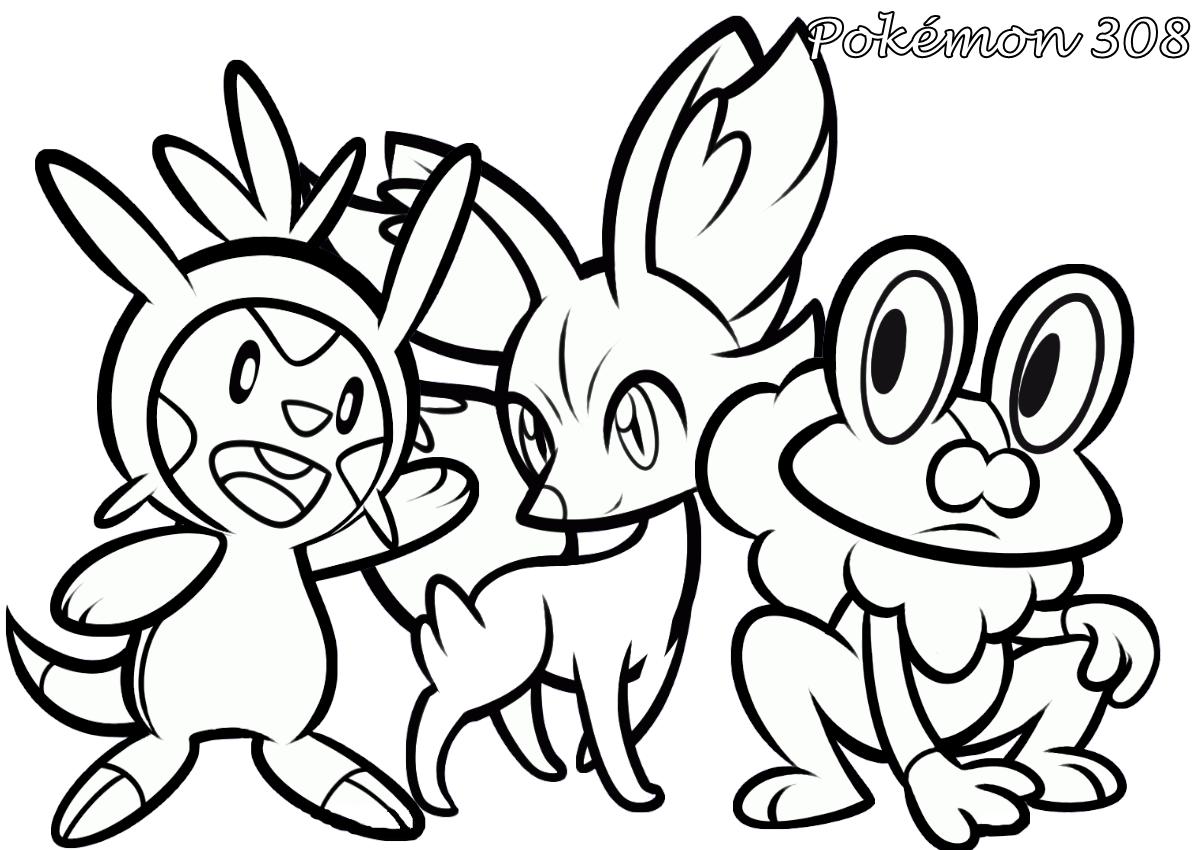 Pokémon 308  Desenhos Para Colorir