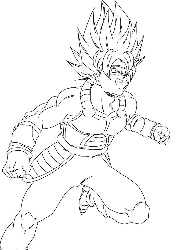Print Dragon Ball Z Kai Coloring Pages