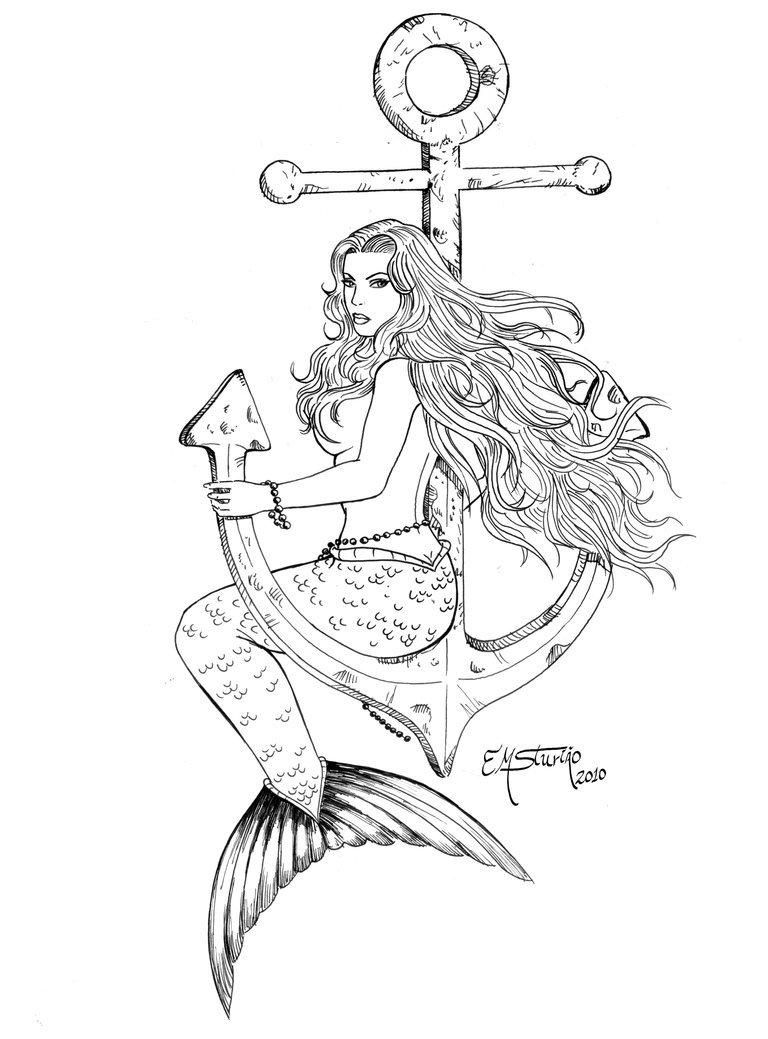 Sereia By Emsturiao On Deviantart