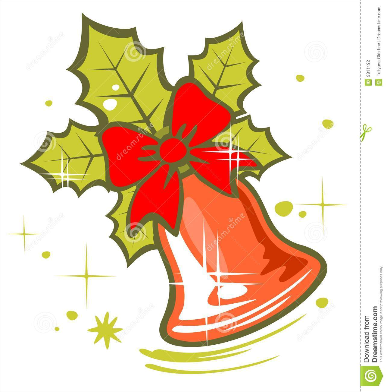 Sino De Natal Fotografia De Stock