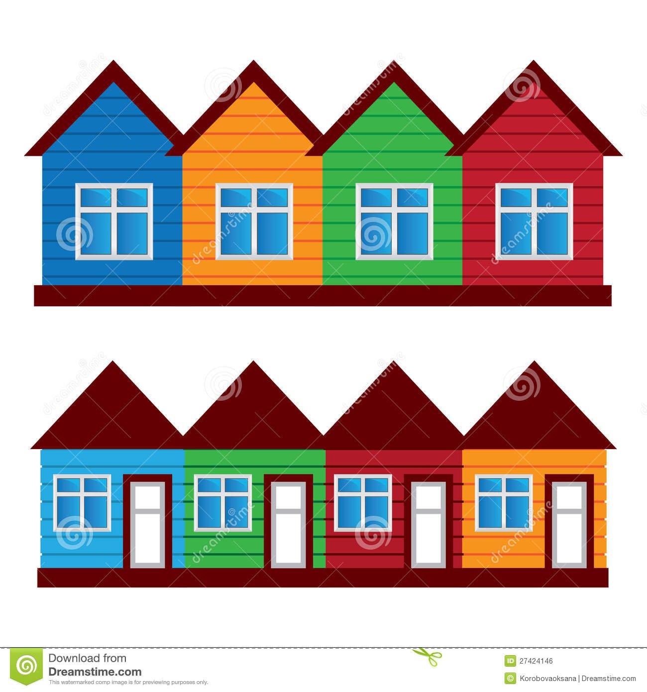 casas em desenho