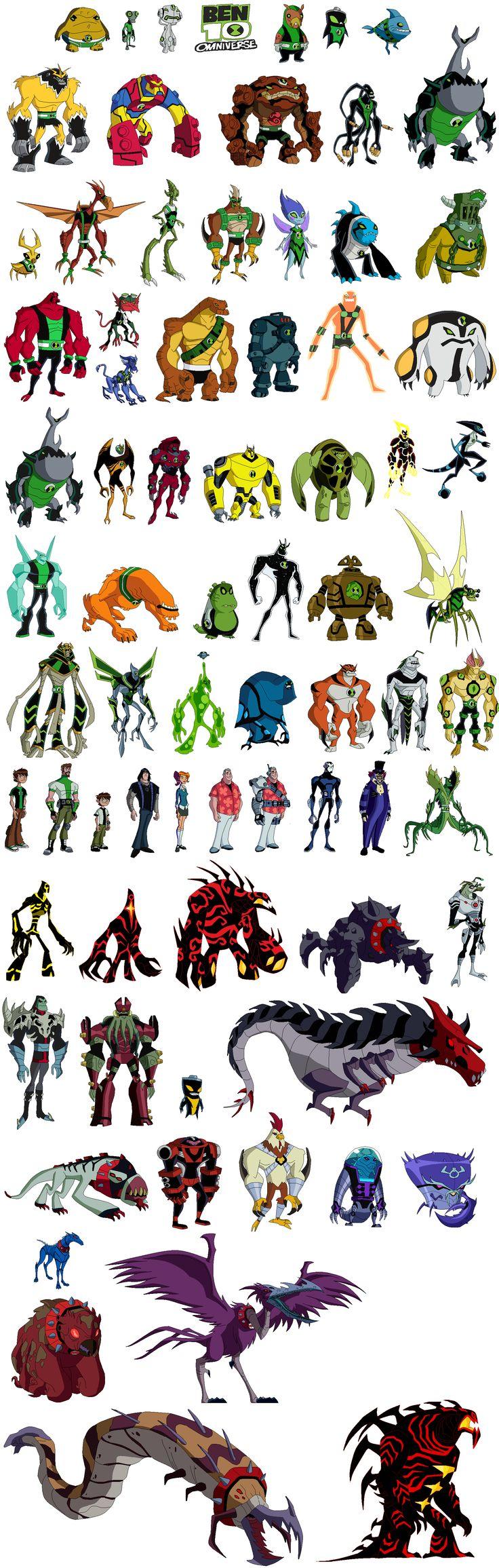 Jogos do ben 10 omniverse aliens gratis - Ben ten alien x ...