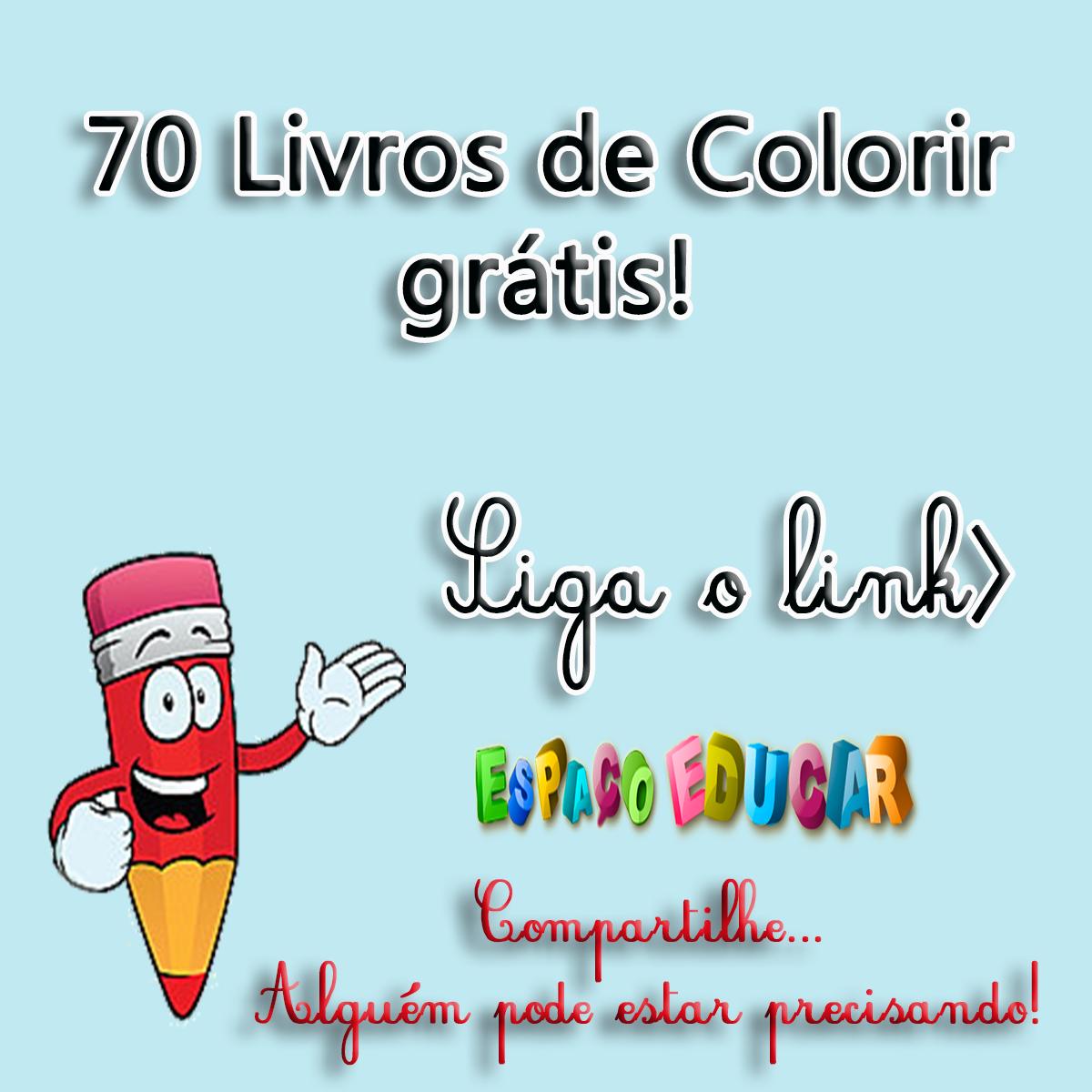 70 Livros De Colorir Grátis! Livros Com Atividades Ou Histórias Em
