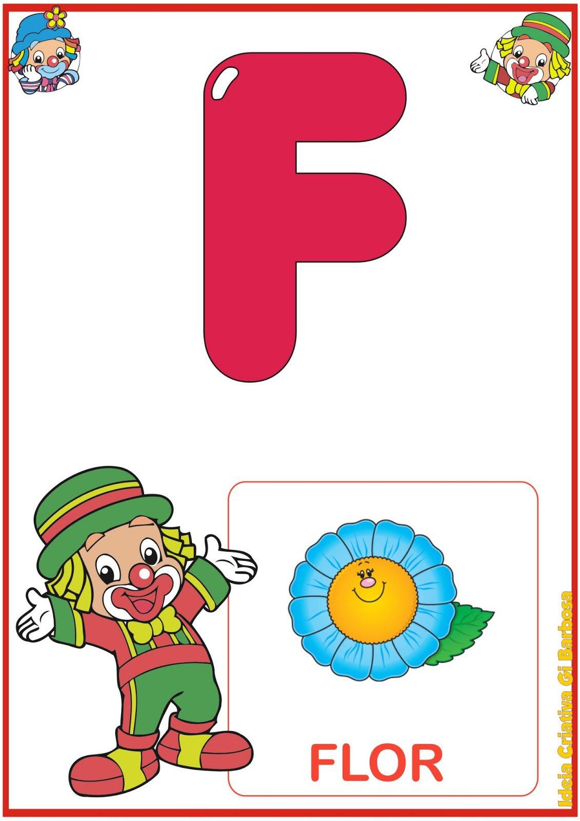 Alfabetos Ideia Criativa  Alfabeto Patati Patata Para Imprimir Grátis