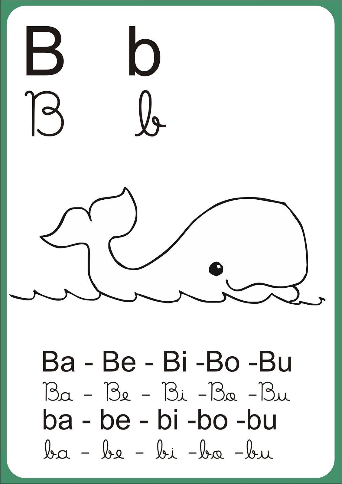 Alfabetos Ideia Criativa  Silabário De Parede Para Imprimir E Colorir