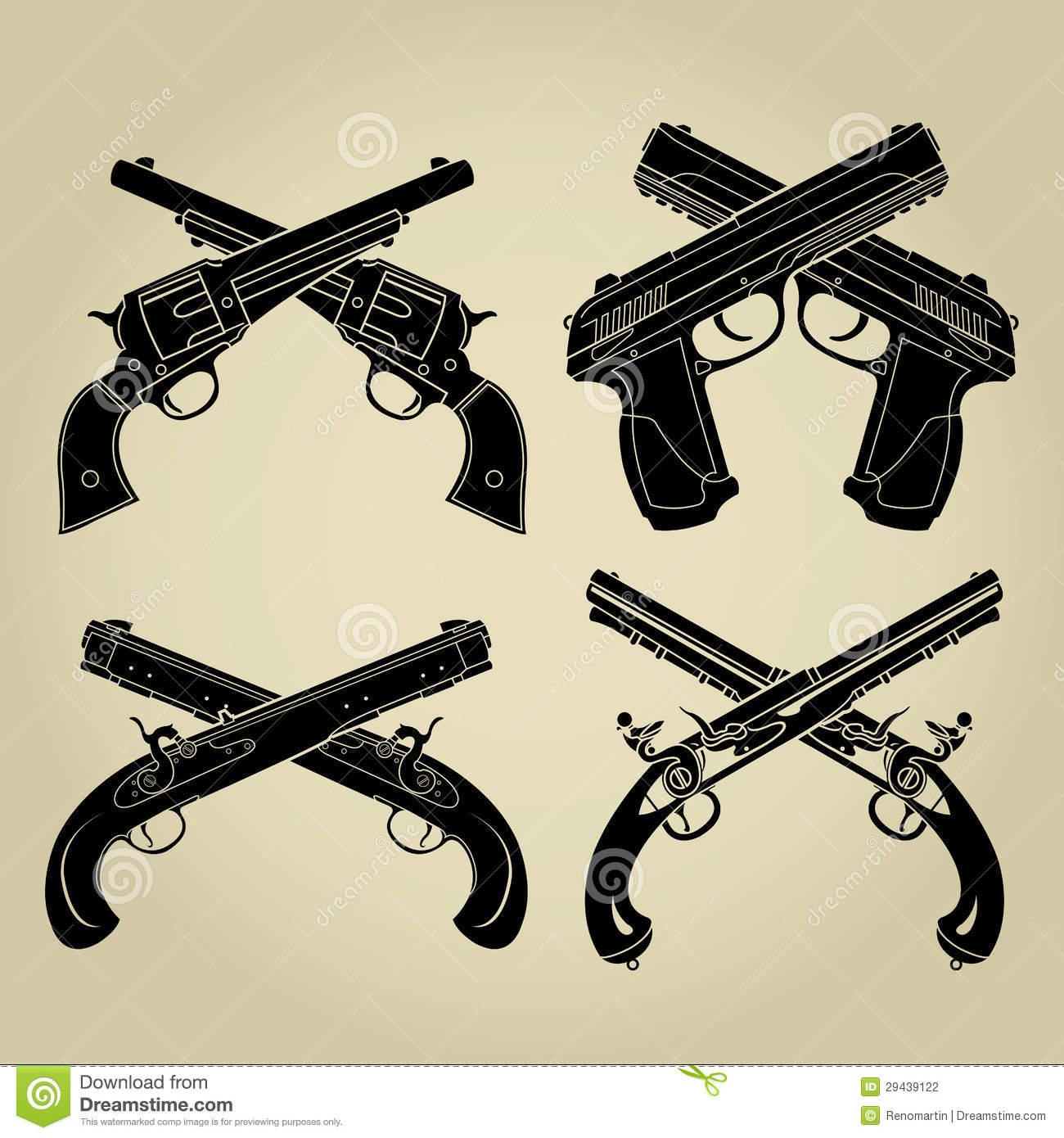 Armas De Fogo Ilustrações De Stock – 135 Armas De Fogo Ilustrações