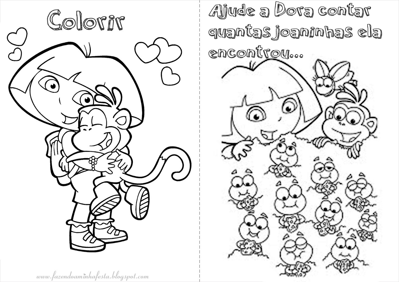 Atividades De Colorir