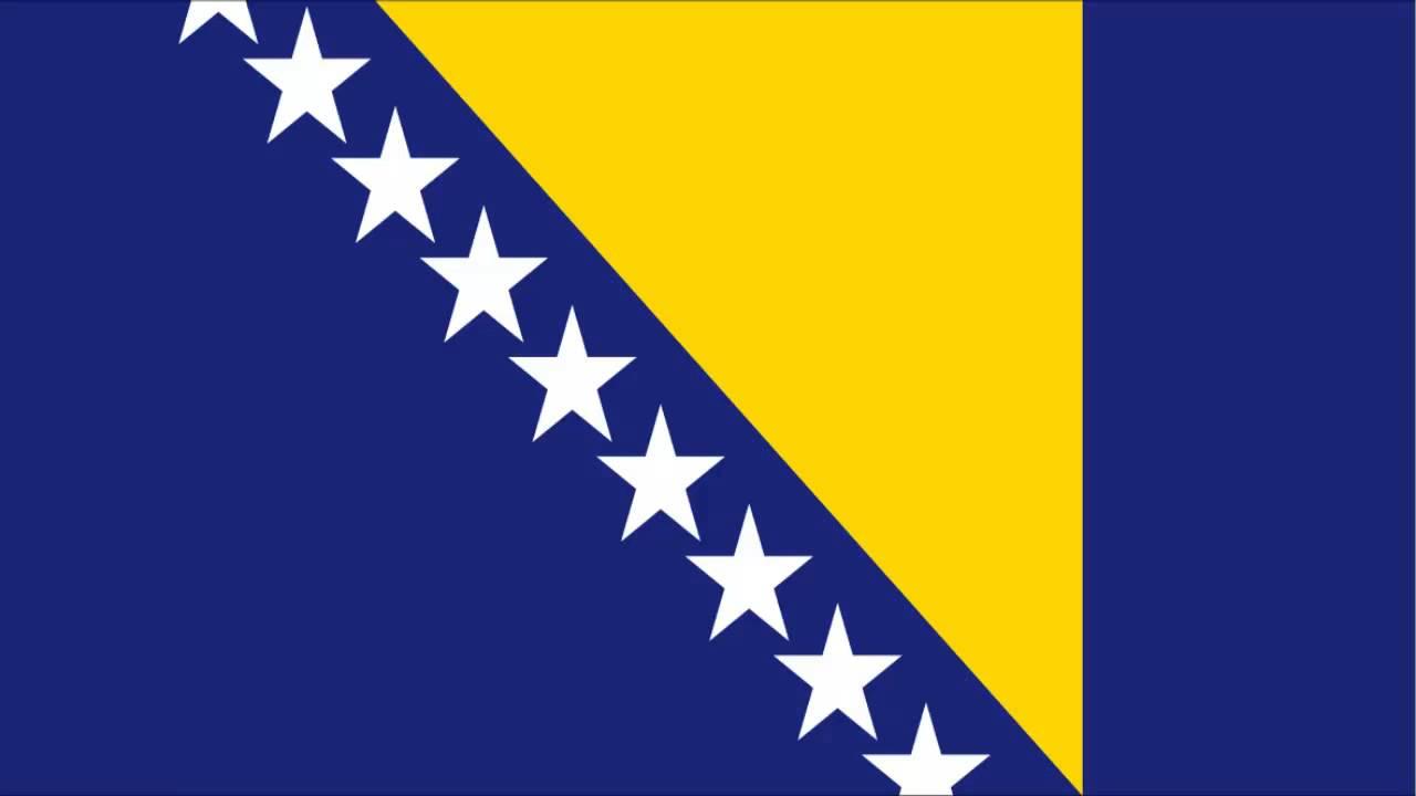 Bandeira Da Bósnia E Herzegóvina