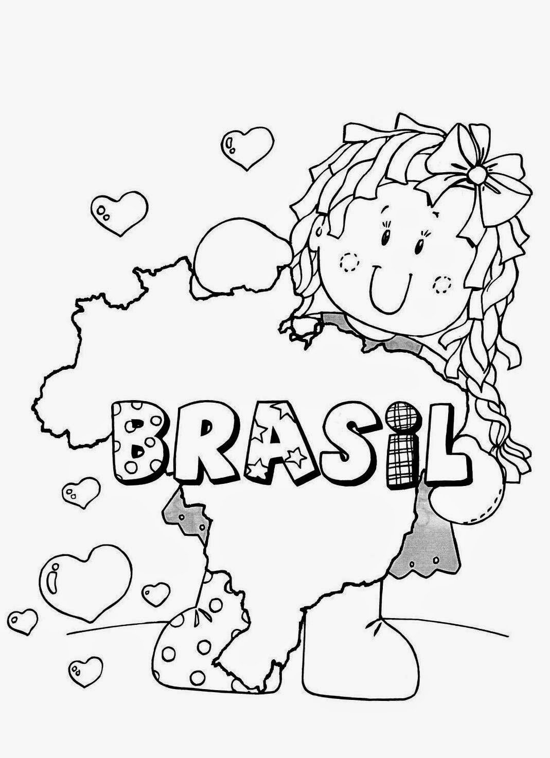 Bandeiras Do Brasil Para Imprimir E Colorir No Jogos Online Wx